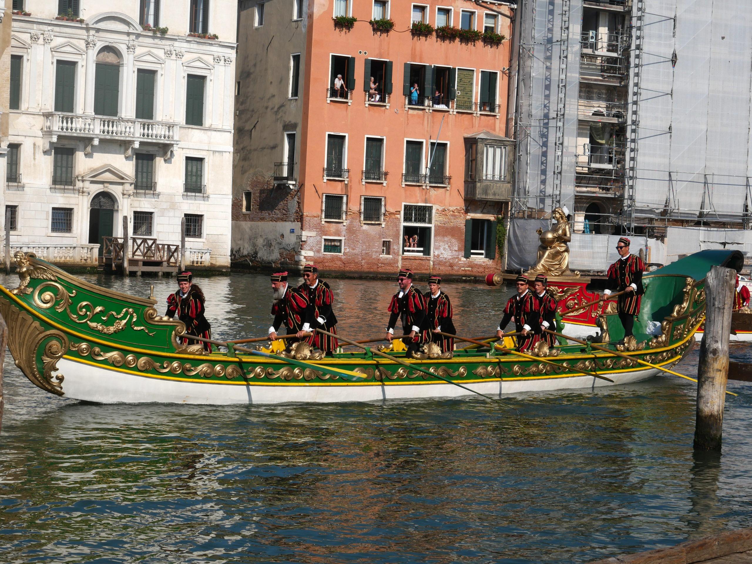 bateau Regata Storica Venise