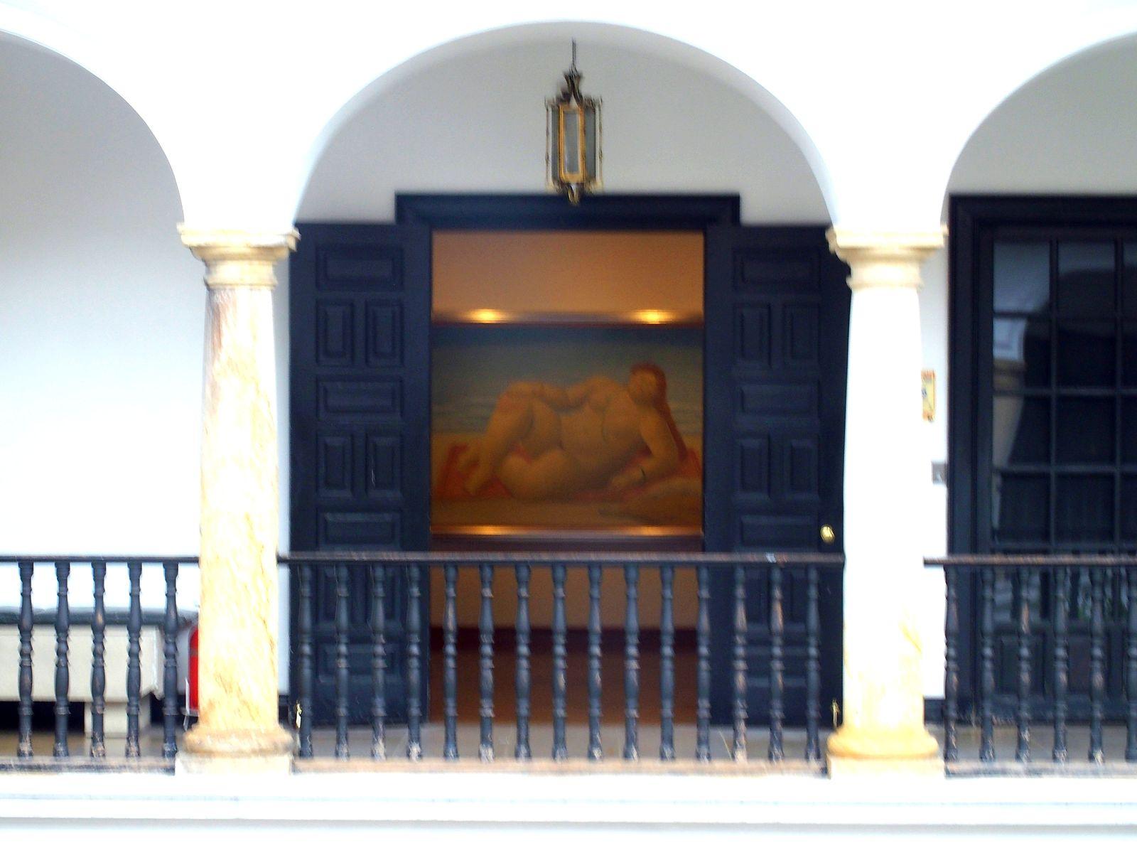 Musée Botero Bogota Entrée d'une salle