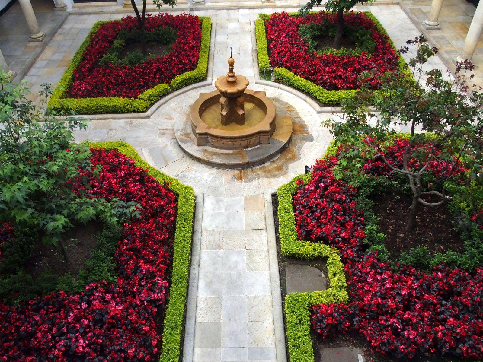 Musée Botero Bogota et son patio