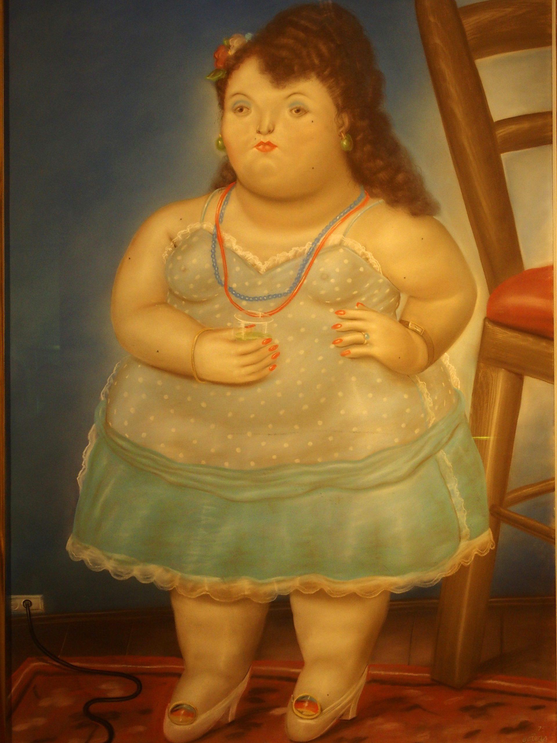 Musée Botero Femme au collier