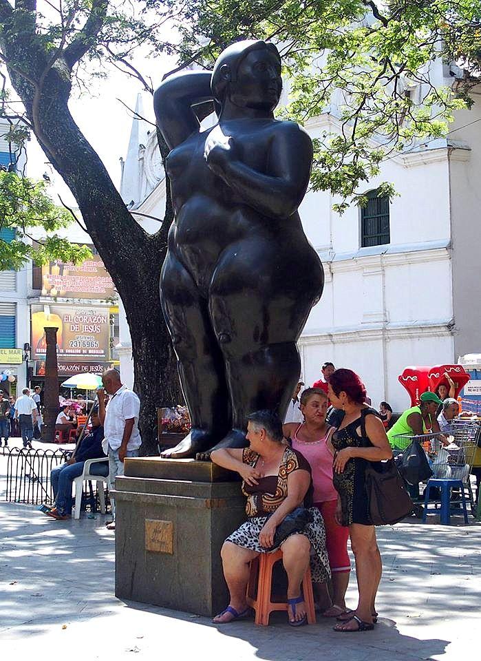 Sculptures de Botero Femmes de Medellin Colombie