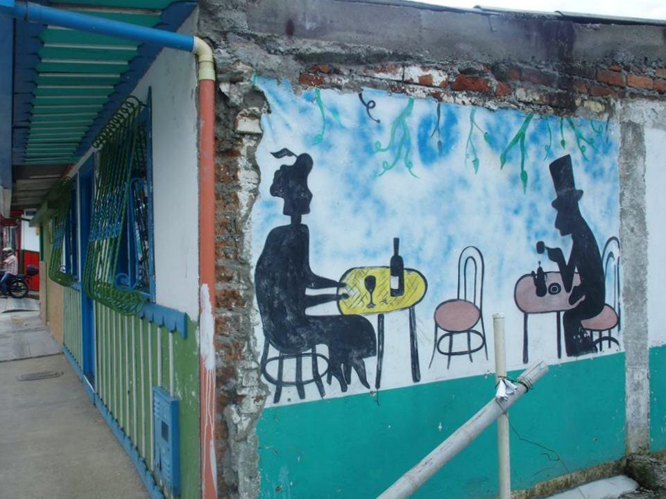 Street art à Salento Colombie