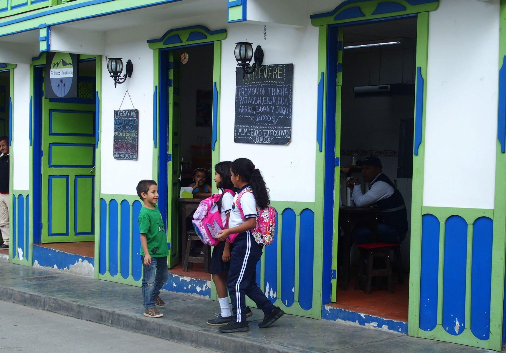 Visiter Salento jeunes élèves