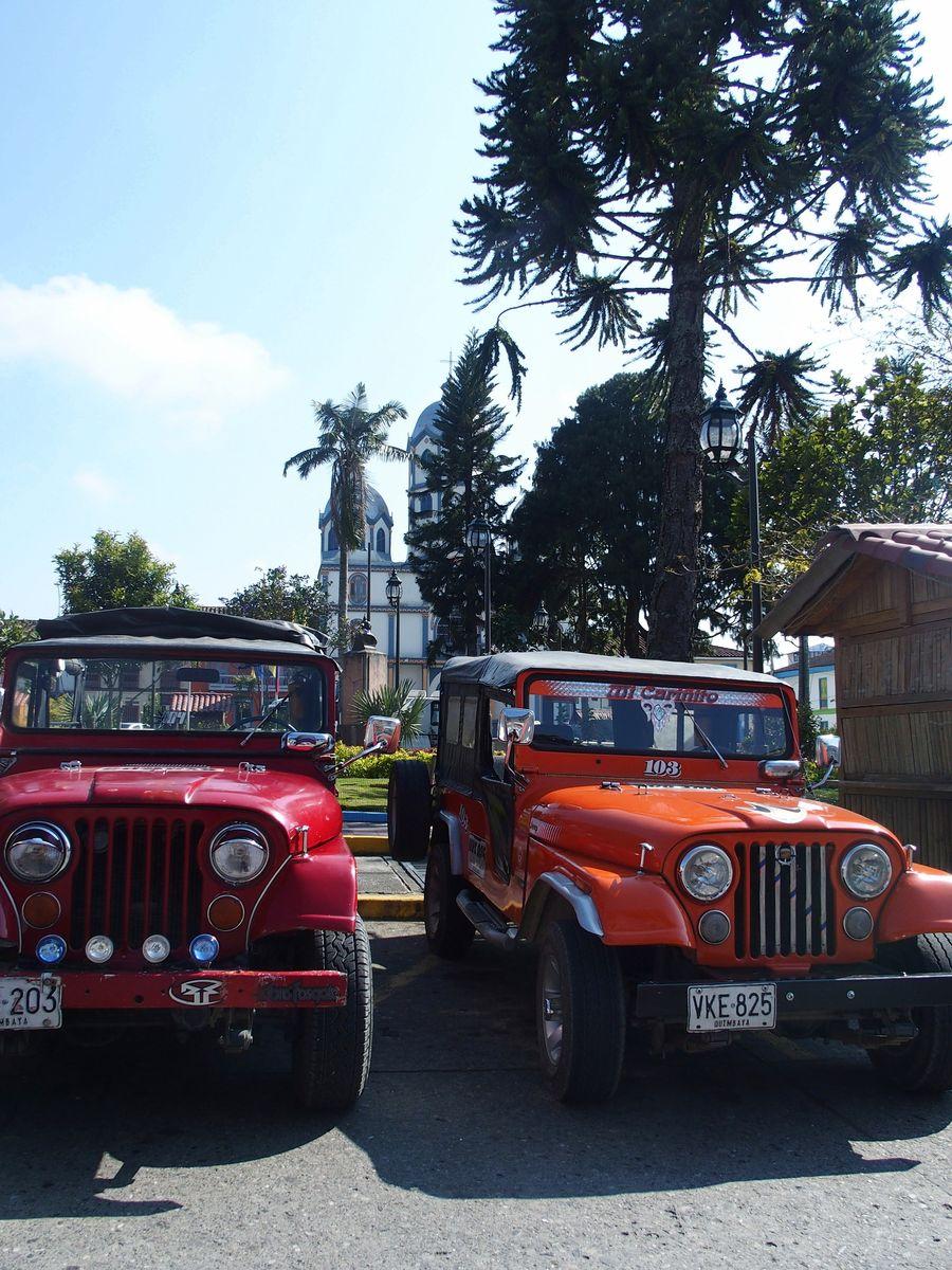 Visiter la vallée de Cocora en jeep Willis Salento Colombie