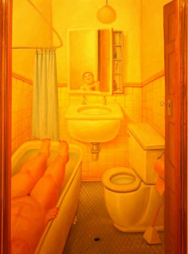 La salle de bain Botéro Colombie