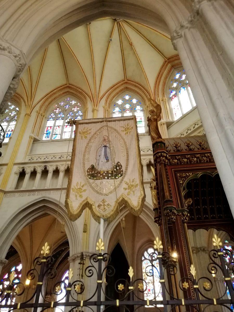 Bannière cathédrale Quimper