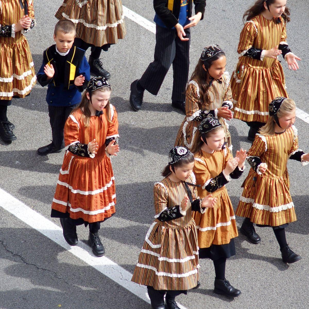Petits danseurs bretons Festival de Cornouaille Quimper