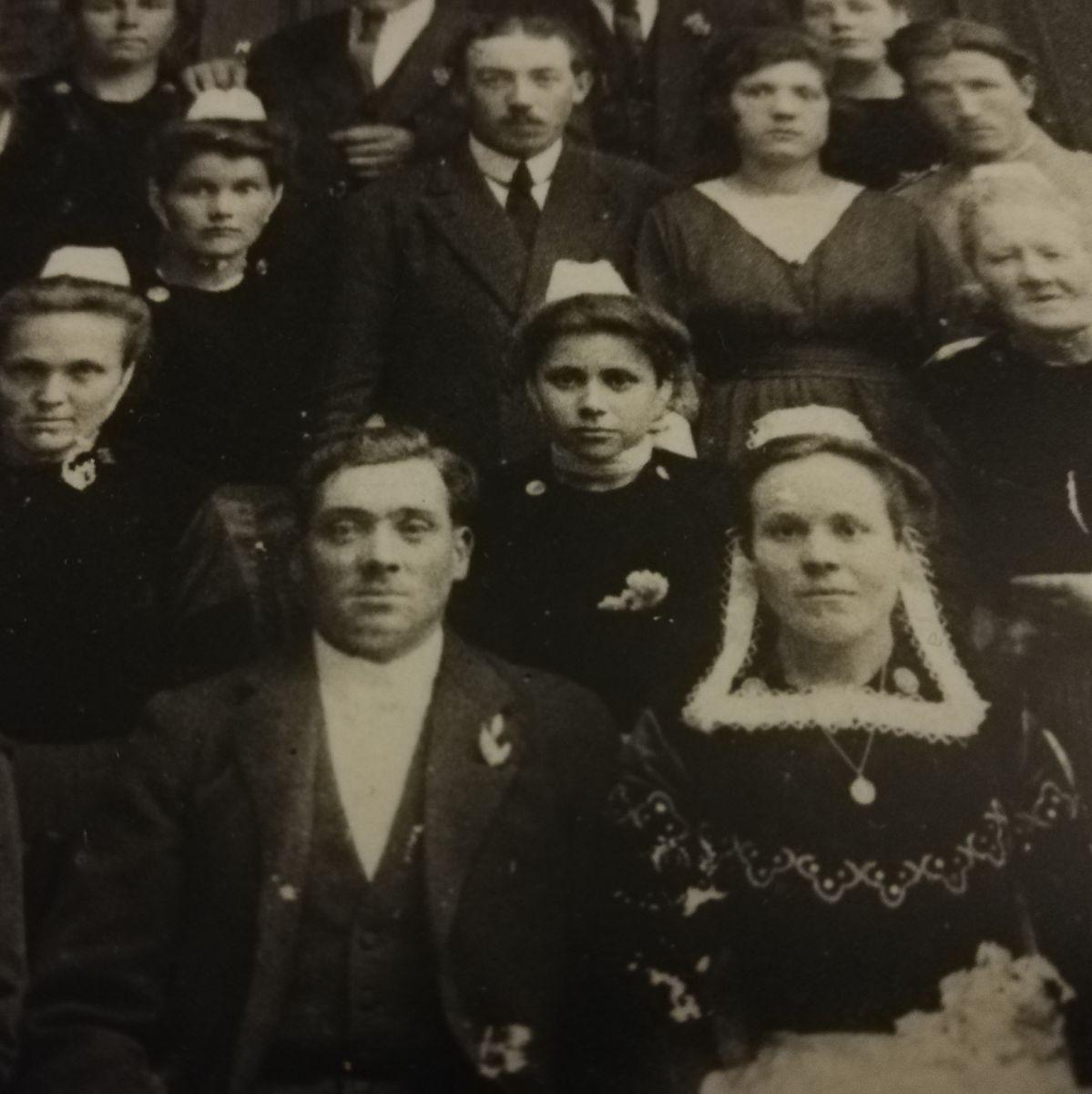 mariage de mes grands-parents Quimper