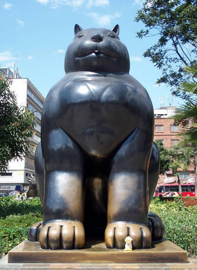 Le Chat de Botero Medellin Colombie