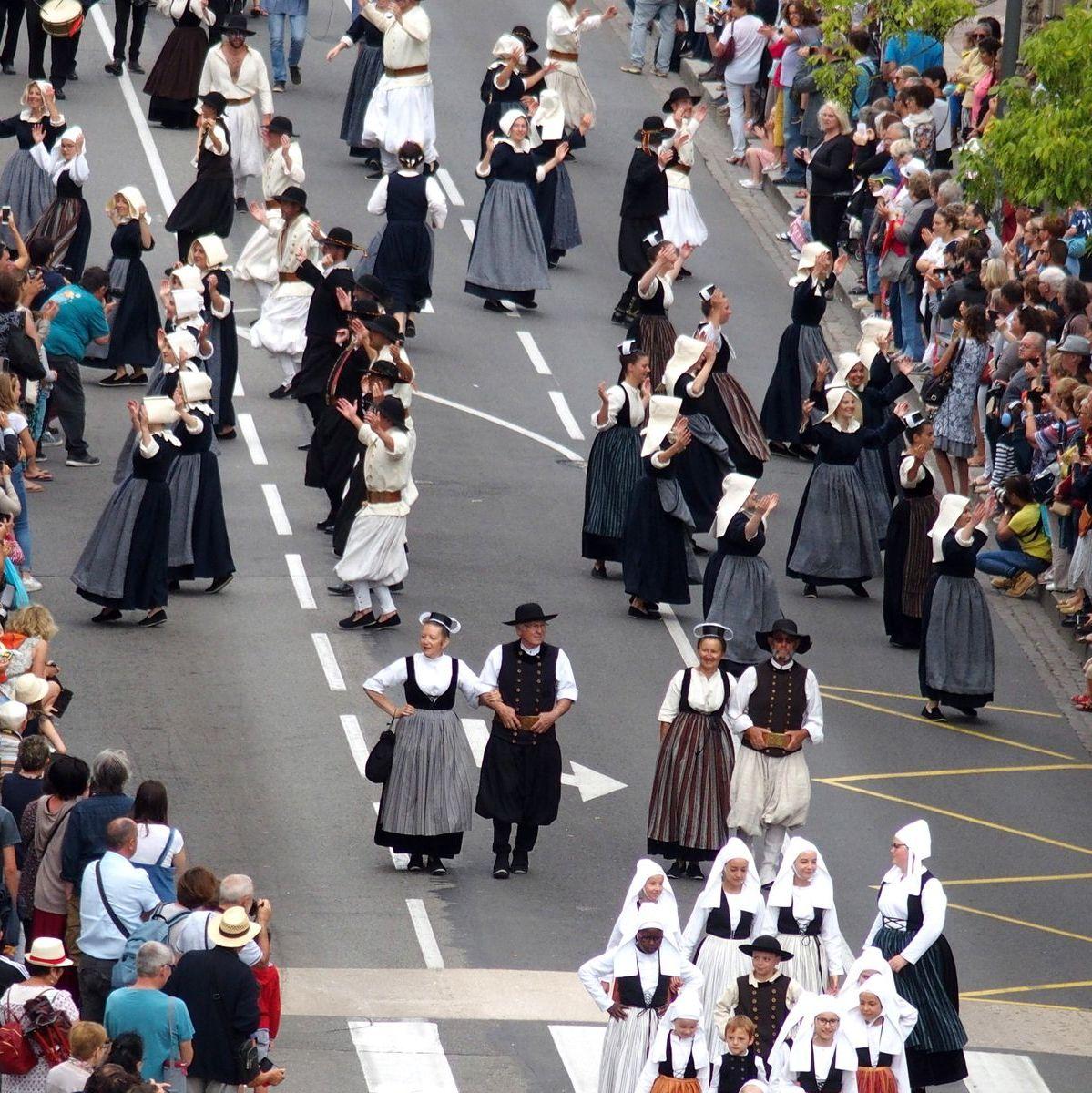 Défilé Festival de Cornouaille Quimper